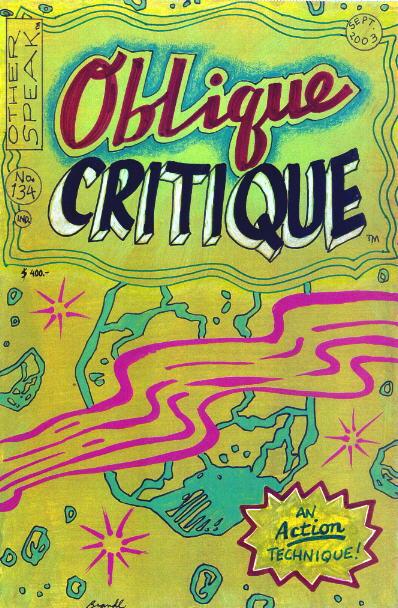 Oblique Critique