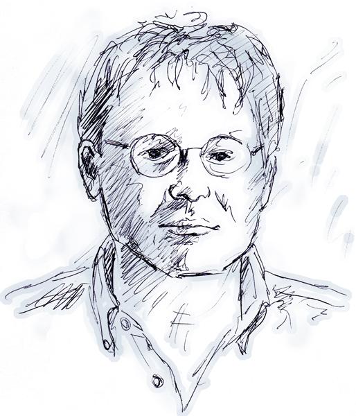 Portrait of Christopher Fuchs by Mark Staff Brandl