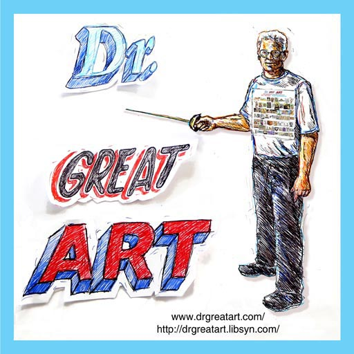 Dr. Great Art icon by Mark Staff Brandl